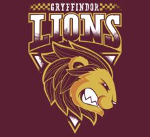 Gryffindor Lions by owlhaus