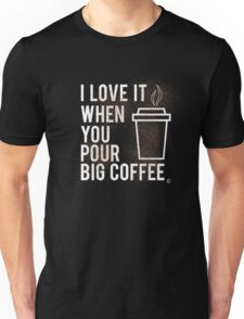 """I Love When you Call me Big Coffee"" Biggie Smalls Rap T Shirt Unisex T-Shirt"