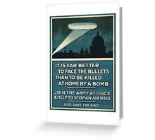 Vintage poster - Join the Army Greeting Card