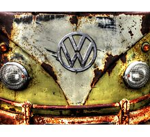 VW Campervan Photographic Print