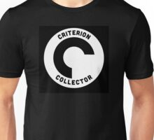 Criterion Collector (for collectors of the Criterion Collection) Unisex T-Shirt
