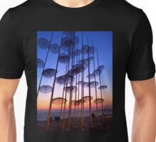 Floating Umbrellas Unisex T-Shirt