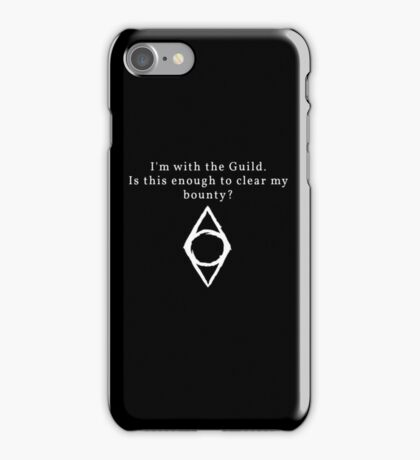 The Thieves Guild Bribe iPhone Case/Skin