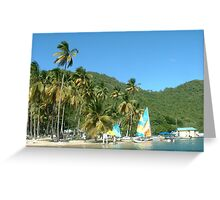Marigot Bay, St. Lucia Greeting Card