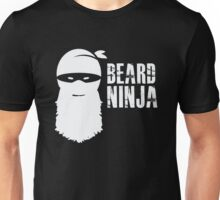Beard Ninja - Funny Humor Beard Facial Hair  Unisex T-Shirt
