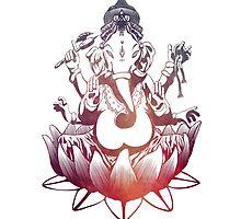 Ganesh Indian God by ohdeer