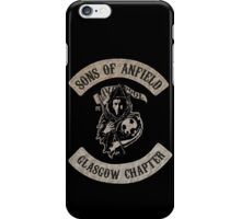 Sons of Anfield - Glasgow Chapter iPhone Case/Skin