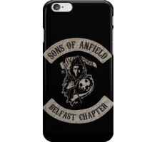 Sons of Anfield - Belfast Chapter iPhone Case/Skin