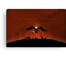 Spawn of Solace Canvas Print