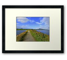 The Path Of Peace.........................................Ireland Framed Print