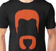 Abraham Minimalistic Beard Unisex T-Shirt