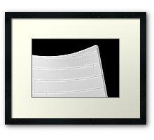 Crescendo Framed Print