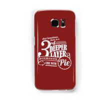 Dr. Horrible's Pie Quote Samsung Galaxy Case/Skin