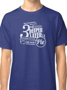Dr. Horrible's Pie Quote Classic T-Shirt