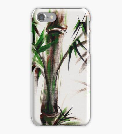 MOTU - Sumie mixed media bamboo painting iPhone Case/Skin