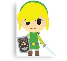 Chibi Toon Link Canvas Print