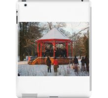 12 carols in the bandstand iPad Case/Skin
