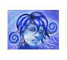 Frosinissia V1 - frozen face Art Print
