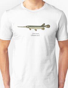 Longnose gar Unisex T-Shirt
