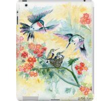 Hummingbird Secret Garden iPad Case/Skin