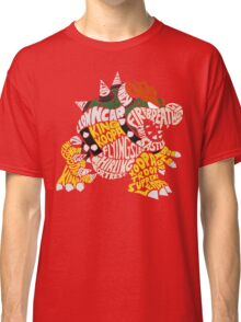 Bowser Typography Classic T-Shirt
