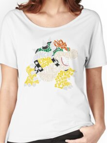 Bowser Typography Women's Relaxed Fit T-Shirt