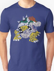Bowser Typography Unisex T-Shirt