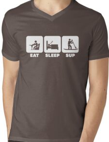 EAT SLEEP SUP | Cool Stand-up Paddleboard T Shirts & Hoodies Mens V-Neck T-Shirt