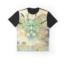 The Green Man Cometh Graphic T-Shirt