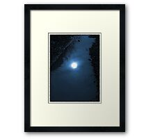 He sees them in the distance when the darkened clouds roll..He could feel tension in the atmosphere...He would look in the mirror, see an old man now...when the wild wind blows    Framed Print