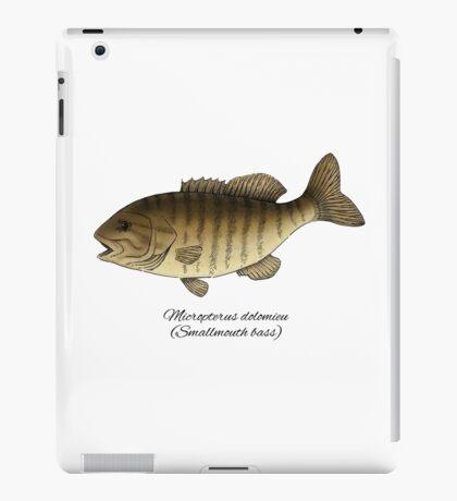 Smallmouth bass iPad Case/Skin