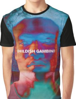 Childish Gambino - Portrait Edit Graphic T-Shirt