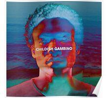 Childish Gambino - Portrait Edit Poster