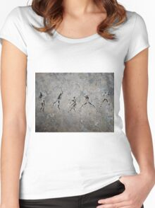 The Blackmore Petroglyph Women's Fitted Scoop T-Shirt