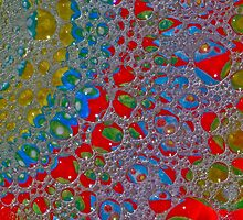 Bubbly Patterns Abstract by HanieBCreations