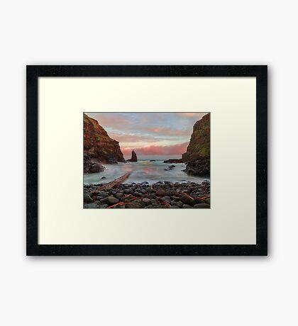 Portcoon Framed Print