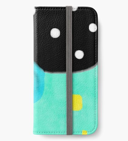 Polka Dots Abstract Happy Art iPhone Wallet/Case/Skin