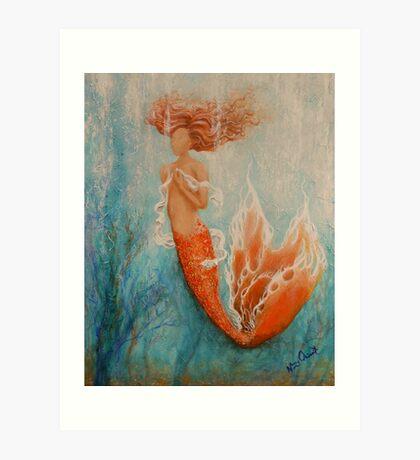 Dreamer - Mermaid Art Art Print