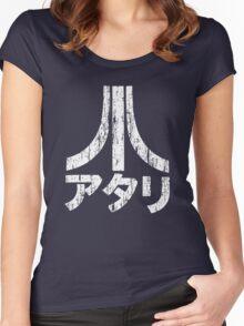 Japan Atari - Grunge Women's Fitted Scoop T-Shirt