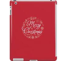 Christmas Card. Hand drawn vector illustration. iPad Case/Skin