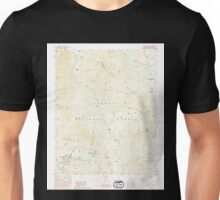 USGS TOPO Map California CA Camp Nelson 288864 1987 24000 geo Unisex T-Shirt