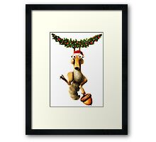 CHRISTMAS FOR ICE AGES Framed Print