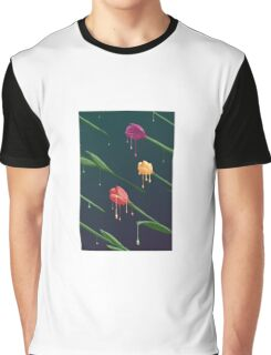 Melting Tulips Graphic T-Shirt