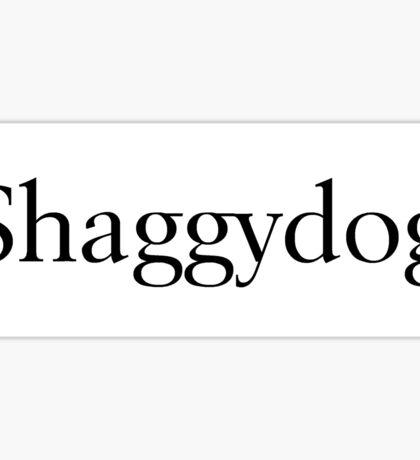Shaggydog Sticker