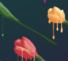 Melting Tulips Sticker