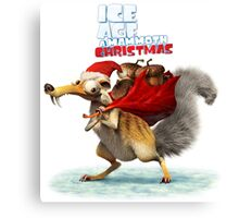 ICE AGES CHRISTMAS FOR Canvas Print
