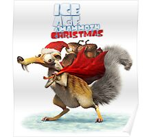 ICE AGES CHRISTMAS FOR Poster