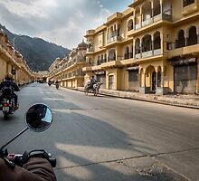 Walled City of Jaipur by Chris de Blank