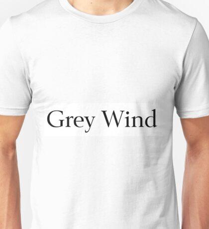 Grey Wind Unisex T-Shirt