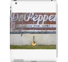 Guitars About Town - Dr Pepper iPad Case/Skin